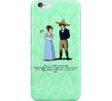 Pride and Prejudice and Tacos iPhone Case/Skin