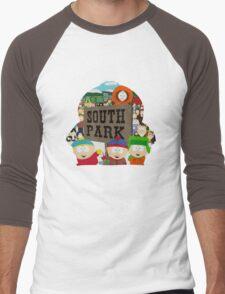 South Park Silhouette  Men's Baseball ¾ T-Shirt