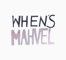 WHEN'S MAHVEL Unisex T-Shirt