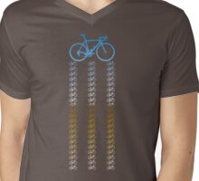 Bike Chrome Mens V-Neck T-Shirt