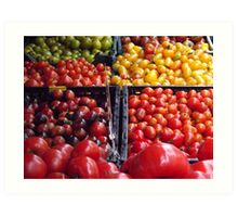 Colorful Fruit, Union Square Farmers Market, New York City Art Print