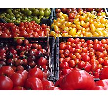 Colorful Fruit, Union Square Farmers Market, New York City Photographic Print