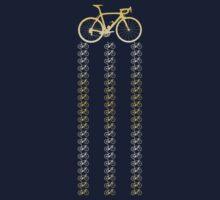 Bike Gold One Piece - Short Sleeve