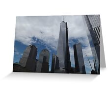 New World Trade Center, Lower Manhattan, New York City  Greeting Card