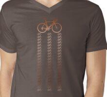 Bike Copper Mens V-Neck T-Shirt