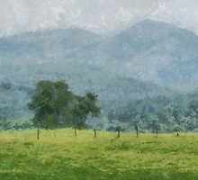 Pasture Trees by Jean Gregory  Evans