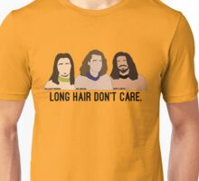 Long Hair Don't Care Unisex T-Shirt
