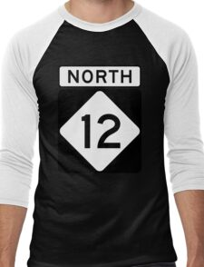 NC 12 - NORTH  Men's Baseball ¾ T-Shirt