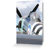 Sea Fury Greeting Card