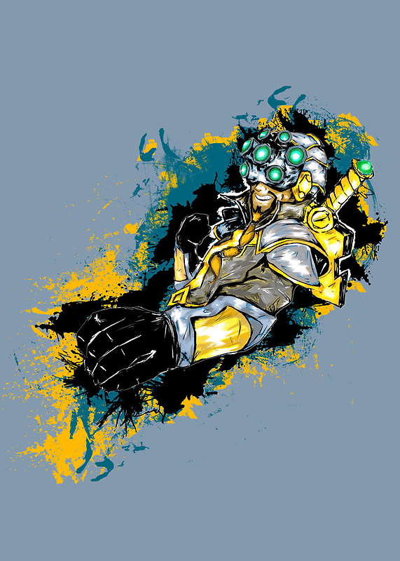 Master Yi - League of Legends by scribbleworx