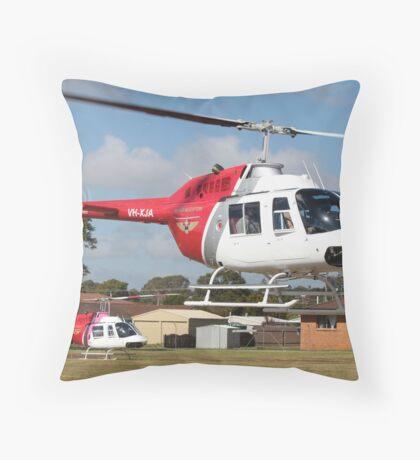 Jetranger Pair Throw Pillow