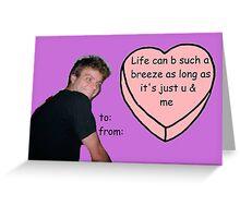 Mac Demarco Valentine #3 Greeting Card