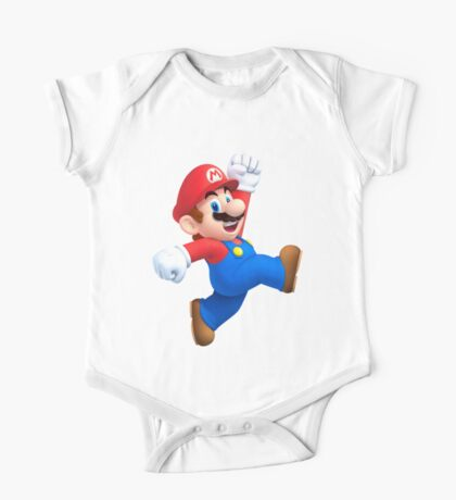 Mario - SUPER MARIO T SHIRT  One Piece - Short Sleeve