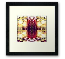 Physics of Gotham Framed Print