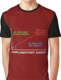 Complimentary Angles Graphic T-Shirt