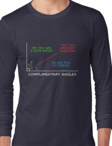 Complimentary Angles Long Sleeve T-Shirt