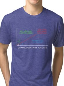 Complimentary Angles Tri-blend T-Shirt