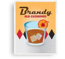 Brandy Old-Fashioned Canvas Print
