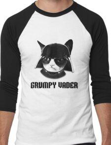 Grumpy Vader Men's Baseball ¾ T-Shirt