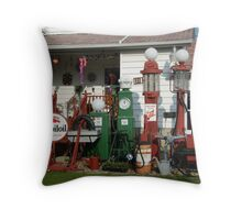 Front Yard Gas Throw Pillow