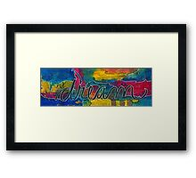 dream out loud Framed Print