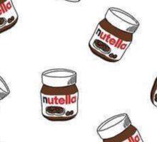 Nutella Jar Design Sticker