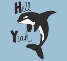 Hell Yeah! orca by greenfinch