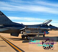f 16 swamp fox by LoreLeft27