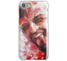 Red Spotted Shirt (Devil) iPhone Case/Skin
