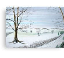 WinteryTrees Canvas Print