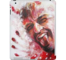Red Spotted Shirt (Devil) iPad Case/Skin