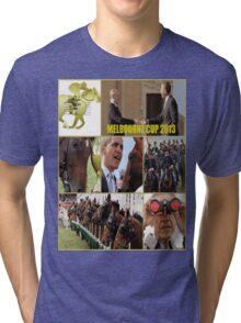 Melbourne cup Tri-blend T-Shirt