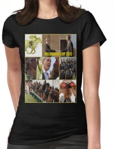 Melbourne cup Womens Fitted T-Shirt