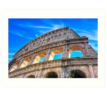 Roman Glory - The Colosseum Art Print