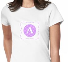 Monogram A Womens Fitted T-Shirt