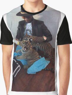 Young Thug Feeding Tigers Graphic T-Shirt
