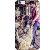 Woolshed Calendar 9 iPhone Case/Skin