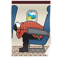 In Flight Safety Poster