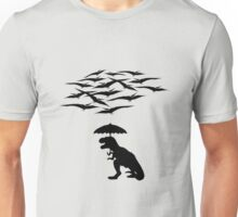 T-Rex vs the Pterodactyls Unisex T-Shirt