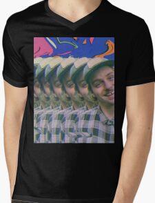 Trippy Mac Mens V-Neck T-Shirt