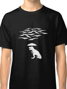 T-Rex vs the Pterodactyls Classic T-Shirt
