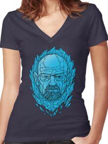King of Kings Women's Fitted V-Neck T-Shirt