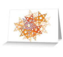 Starry Christmas 3 Greeting Card