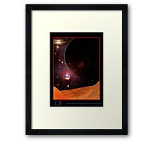 Object of Space Framed Print