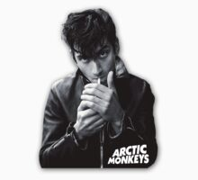 Alex Turner - Arctic Monkeys with Logo by cbazoe
