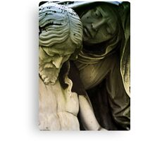 Her Son Canvas Print