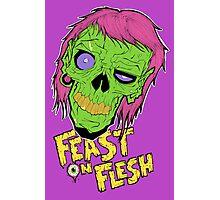 Feast On Flesh Photographic Print