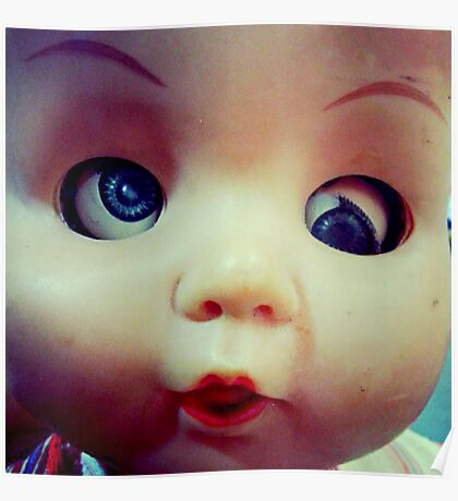 Vintage doll Poster