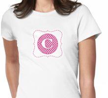 Monogram C Womens Fitted T-Shirt