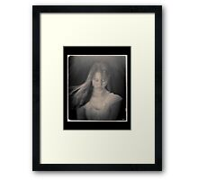 My Angel - Angelo Mio in Black & White Framed Print